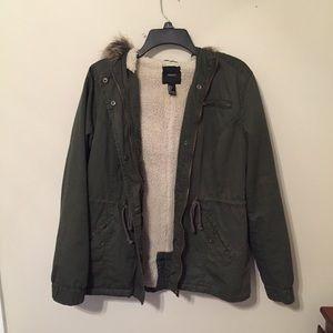 Forever 21 parka // jacket